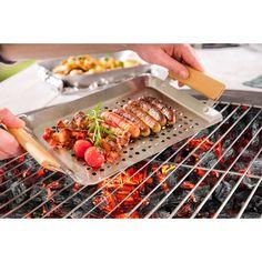 Jean Patrique BBQ Tool Set | Wayfair.co.uk Escargot Recipe, Meat Packing, Bbq Tool Set, Marinated Beef, Bbq Meat, Roasted Peppers, Sweet Cherries, Scallops, Skewers