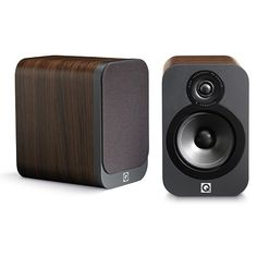 Q Acoustics 3020 Speaker Pair - In leather cabinet, @ Stereo Passion International