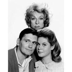 File Agnes Moorehead Dick York Elizabeth Montgomery Bewitched 1964.JPG ❤ liked on Polyvore