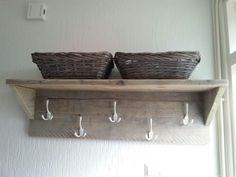 Houten meubels maken | Op eigen houtje meubelmaker Yvette Cappendijk| meubels op maat Home Organisation, Diy Furniture Projects, Diy And Crafts, Sweet Home, New Homes, Shelves, Pure Products, Inspiration, Design