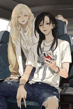 drawn by TanJiu, it's from the manhwa Tamen de Gushi ✌️😔 Yuri Manga, Anime Girlxgirl, Character Art, Yuri Anime, Anime, Anime Drawings, Manga, Aesthetic Anime, Lesbian Art