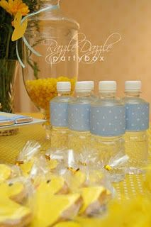 Rubber Duck Themed Shower Party Ideas