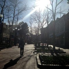 Boulder, Colorado - Pearl Street