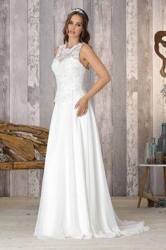 Wedding dress chiffon lace Brinkman - BR9037