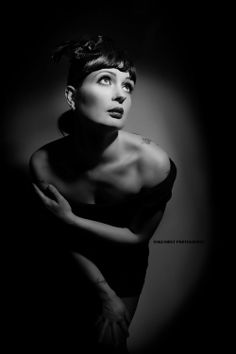 Film noir model by oakenmist photography