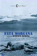 CINE(EDU)-345. Fata Morgana. Dir. Werner Herzog. Alemania del Oeste, 1970. Ciencia-ficción. Estruturada en 3 partes (creación, paraíso e a era dourada) e rodada no deserto do Sahara, esta é sen dúbida a película menos convencional do director alemán. Sen argumento nin guión determinado, Herzog regálanos unha serie de imaxes, palabras e música que funcionan conxuntamente dando un resultado marabilloso.  http://kmelot.biblioteca.udc.es/record=b1456533~S1*gag