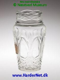 YRSA PRESSET GLAS - Fyens Glasværk 1934-1950