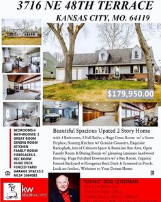New Home Listing in Kansas City! @kansascitytime @countryclubplaza @travelhostkansascity #hometown #homesforsale #realestateagent #realtor #realtorlife #kansascity #missouri #kansas #dreams #bully #updated #luxurylifestyle #luxuryrealestate #like4like #likeforlike #likesforlikes #like4likeback #likethis #likeit #followforfollow #follow4follow #followme #kellerwilliams #entrepreneur #investing #investinyourself #homelisting #localrealtors - posted by Bob Lendman…
