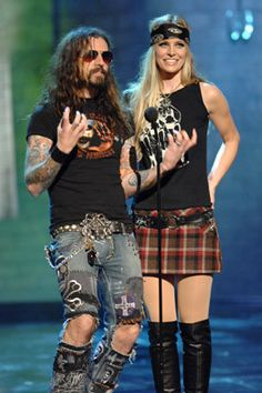 Rob & Sheri Moon Zombie: my absolute favorite couple. EVER.