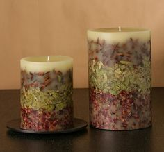 Rosy Rings Spiced Cranberry Botanical Candle