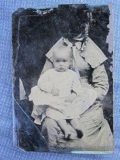 "Antique American Hidden Mother Photographer "" Edit "" Development Tintype Photo | eBay"