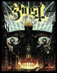 Posters Prequelle Drapeau Poster Tissu Ghost B.C