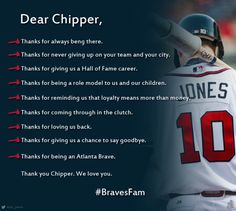Thanks, Chipper!