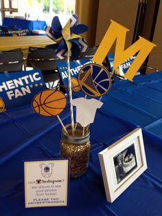 Golden State Warriors Baby Shower Party Ideas | Photo 1 of 14