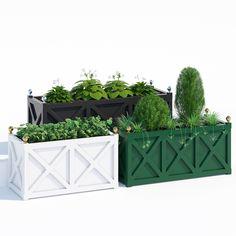 cross jardinieres 3d model max obj fbx mat 1