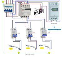 Esquemas eléctricos: Alumbrado con manual/automático