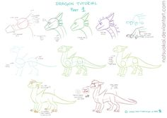 Dragon Tutorial 1/??? by Natsuakai.deviantart.com on @DeviantArt