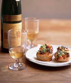 Mini bacon and cheese pastries :: Gourmet Traveller