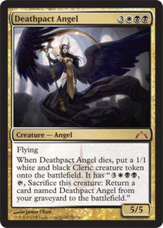 Deathpact-Angel-x4-Magic-the-Gathering-4x-Gatecrash-mtg-card-lot-mythic-rare