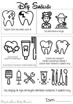 Pre School, Worksheets, Kindergarten, Crafts For Kids, Education, Dry Cough, Dental Health, Initials, Preschool