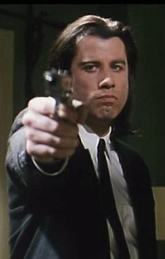 John Travolta Pulp Fiction, one of my favs!