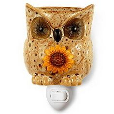 Opentip.com: Keystone Candle ABPI1010 Owl Plug-in Tart Warmers