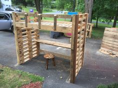 #PalletBed, #ReclaimedPallet
