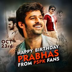 """Read more about Prabhas' look in 'Saaho' revealed on his birthday on Business Standard. """"Baahubali"""" star Prabhas, who turned 38 on Monday, gave his fans a gift -- the first look poster of multi-lingual action film """"Saaho"""". Bahubali Movie, Prabhas Actor, Prabhas Pics, Most Handsome Actors, Lakshmi Images, 38th Birthday, Star Darlings, Joker Wallpapers, Fan Edits"""