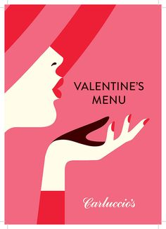 VALENTINE'S DAY 2015 poster for Carluccio's Restaurants in London, England by Malika Favre with her iconic lips blowing a kiss Valentines Day Drawing, Valentines Design, Graphic Design Illustration, Digital Illustration, Portrait Illustration, Valentinstag Poster, Valentine Poster, Valentines Illustration, Valentine's Day Poster