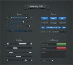 50 Free and High Quality PSD Web UI Elements to Speed up Your Design Process