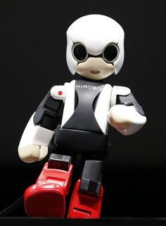 Super cute KIROBO Humanoid communication robot …