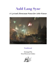 "New at Sheet Music Plus!  A Lyrical showcase piece for solo piano of ""Auld Lang Syne.""  This song always gets to me.  I think maybe it's the combination of the incredible melody meeting with associations of life-long friendships that mean so much.  Whatever it is, I have always loved this song!  For the holidays, for a graduation, for a farewell, really for anytime at all.  ♥"