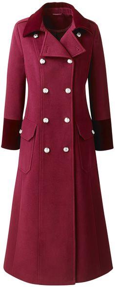 Plus Size Maxi Coats for Women