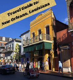 The Ultimate Trave Guide to: New Orleans, Louisiana! New Orleans Louisiana, Bourbon Street, Cata, Travel Guide, Street View, News, Life, Tourism