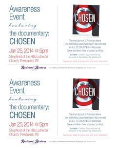 Presentation of documentary: Chosen