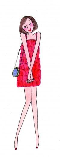 Kanako HA that flapper costume!