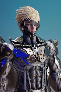 Metal Gear Rising Revengeance RAIDEN by Hot Toys: PREVIEW No.4 Hi Res Images
