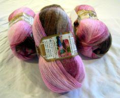 Alize Angora Gold Batik selfstriping fine yarn in by HandyFamily, €5.20