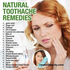 Health & nutrition tips: Natural toothache remedies