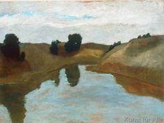 Paula Modersohn-Becker - Landschaft mit Tümpel