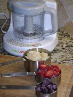 I already know I want to make my own baby food. Need to remember this thing! baby food with baby brezza