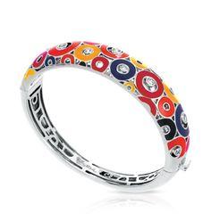 Capri Jewelers Arizona ~ www.caprijewelersaz.com Nova Red Bangle by Belle Étoile. Bold, Bright Colors.  Styling Colors