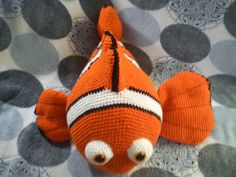 Amigurumi Kayıp Balık Nemo Açıklamalı Modeli