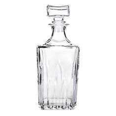 @Overstock - Amici's Graal decanter is produced in Italy with a European flare. This is a great Whiskey decanter.  http://www.overstock.com/Home-Garden/Graal-Whiskey-Decanter/7472716/product.html?CID=214117 $29.99