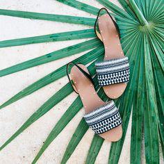 the one-stop summer getaway shop: madewell abbi slingback sandal.