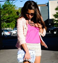 BLOGGED: Pink on Pink   #fashion #style #ootd