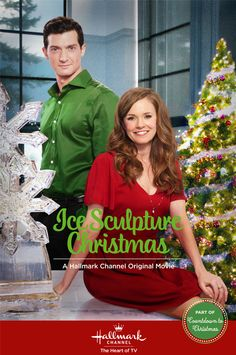 Ice Sculpture Christmas - 2015, Hallmark, is my Day 15 selection for my Christmas Movie Review.  Though it might seem predictable (and it ultimately is), there are a few moments that break the mold...