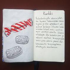 From sketchbook of Petri Fills #sketchbook #drawing #karkki #historia