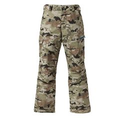 Gsou Snow Ski Pants Men Winter Snowboard Pants Waterproof Breathable Camouflage Ski Trousers Thicken Warm Windproof Ski Clothes