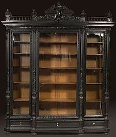 oh my..this would be so fun to fill with shoes and bags intermixed with hats, antique books and some funky glass pieces.